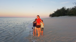 Anita_Link_standing_on_beach
