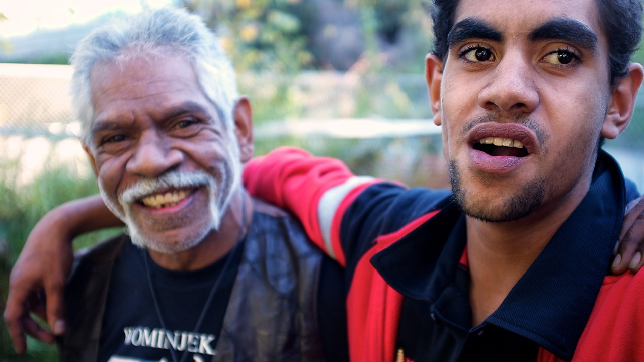 Indigenous-Australian-father-son