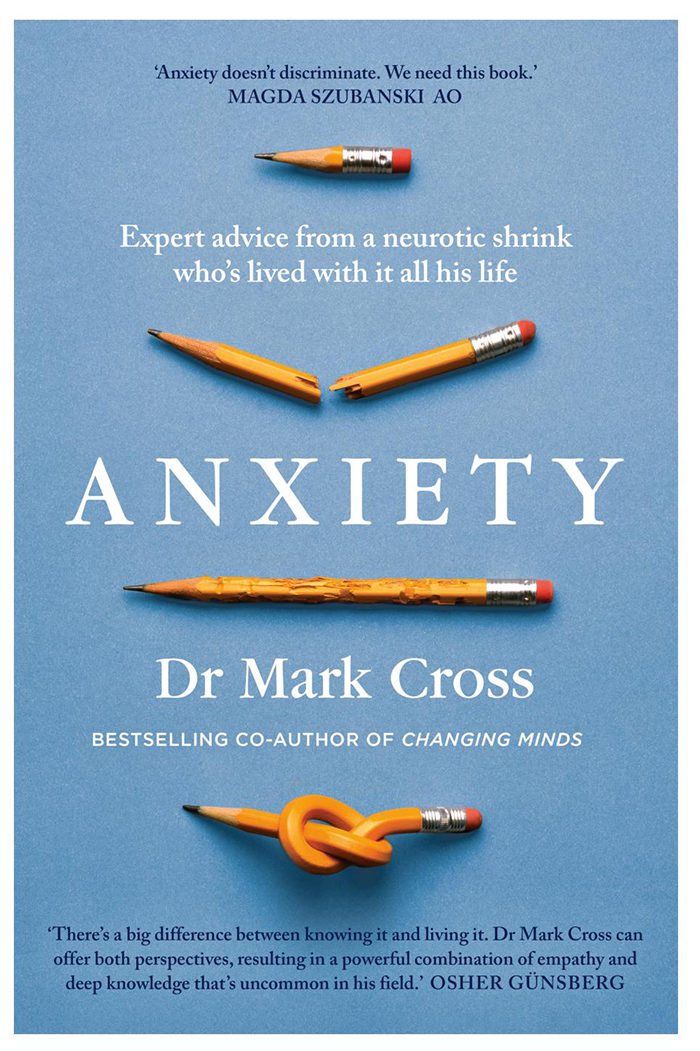 Anxiety book Dr Mark Cross