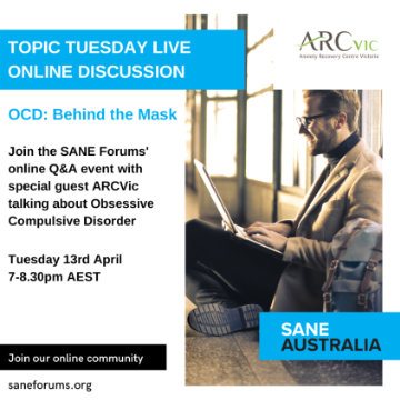 Online Event - Let's talk about Obsessive Complusive Disorder