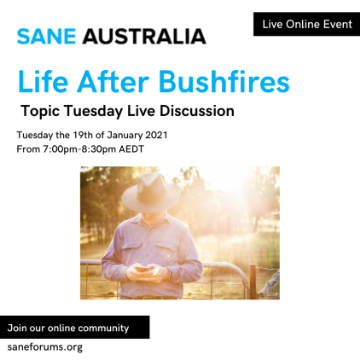 Online Event - Life and Recover After Bushfires