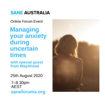 Topic Tuesday - Managing your anxiety during uncertain times - WayAhead