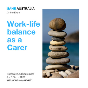 Carers Online Event - Work-life balance as a carer