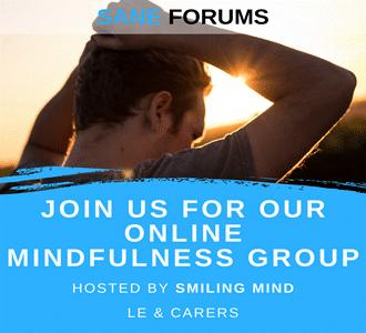 Online mindfulness group promo image