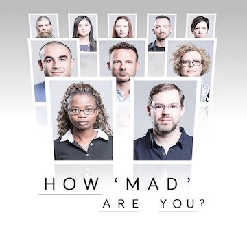 Promo image for SBS tv show - How Mad Are You?