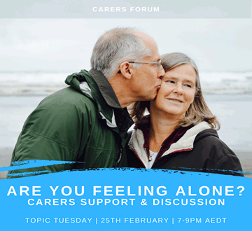 Topic Tuesday: Carers Forum - Are you feeling alone