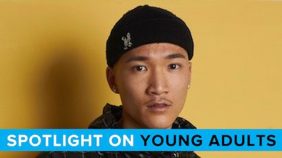 spotlight on young adults