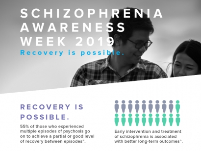 Schizophrenia Awareness Week 2019: Recovery is possible